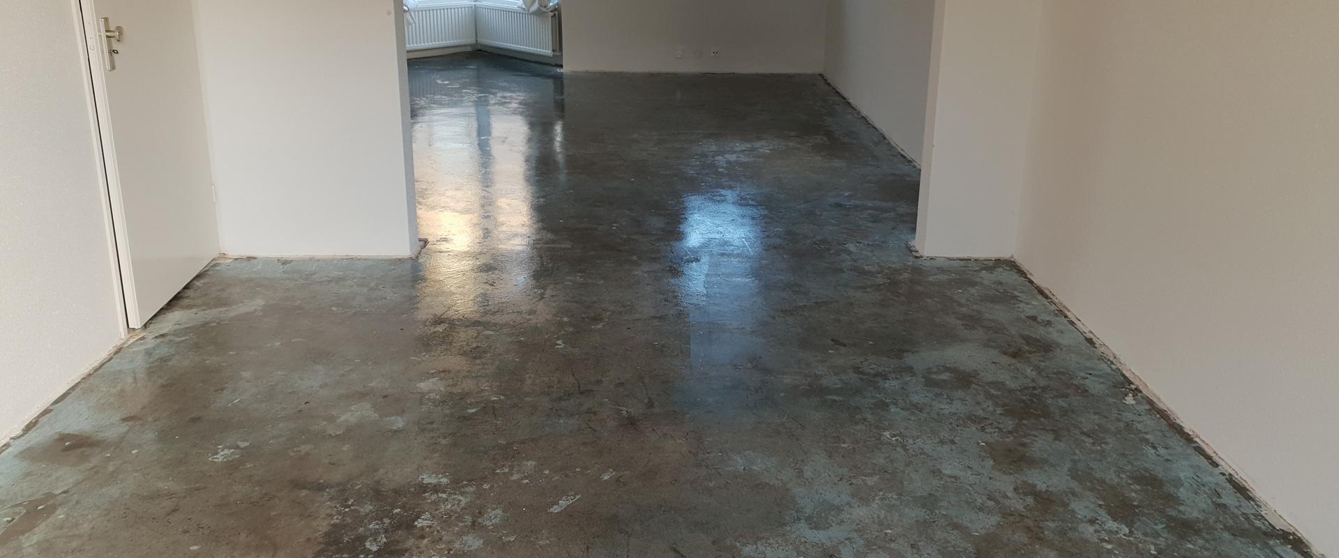 PVC vloer leggen op beton