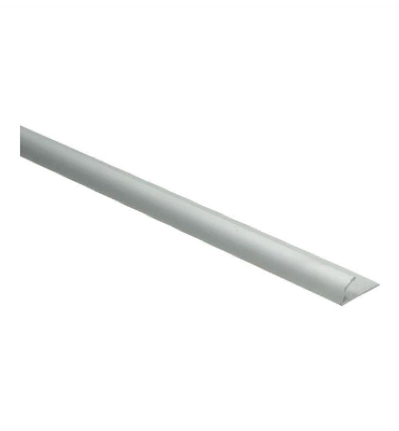 Afsluitprofiel 100 cm aluminium