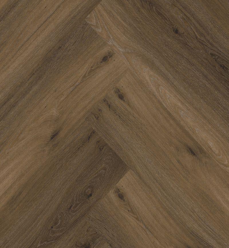 Ambiant PVC 9058350119 Spigato Click Visgraat w Brown