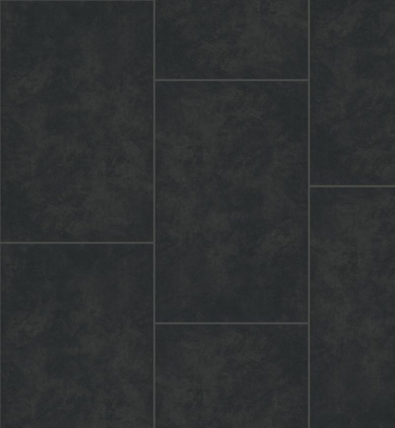 Floorify PVC Rigid Vinyl Tiles F016 Caviar