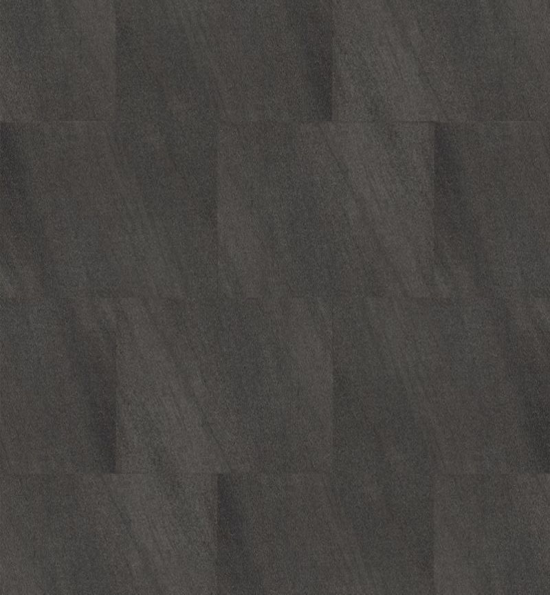 Green-Flor PVC GT491 Stylish Grid Mineral Onyx Black