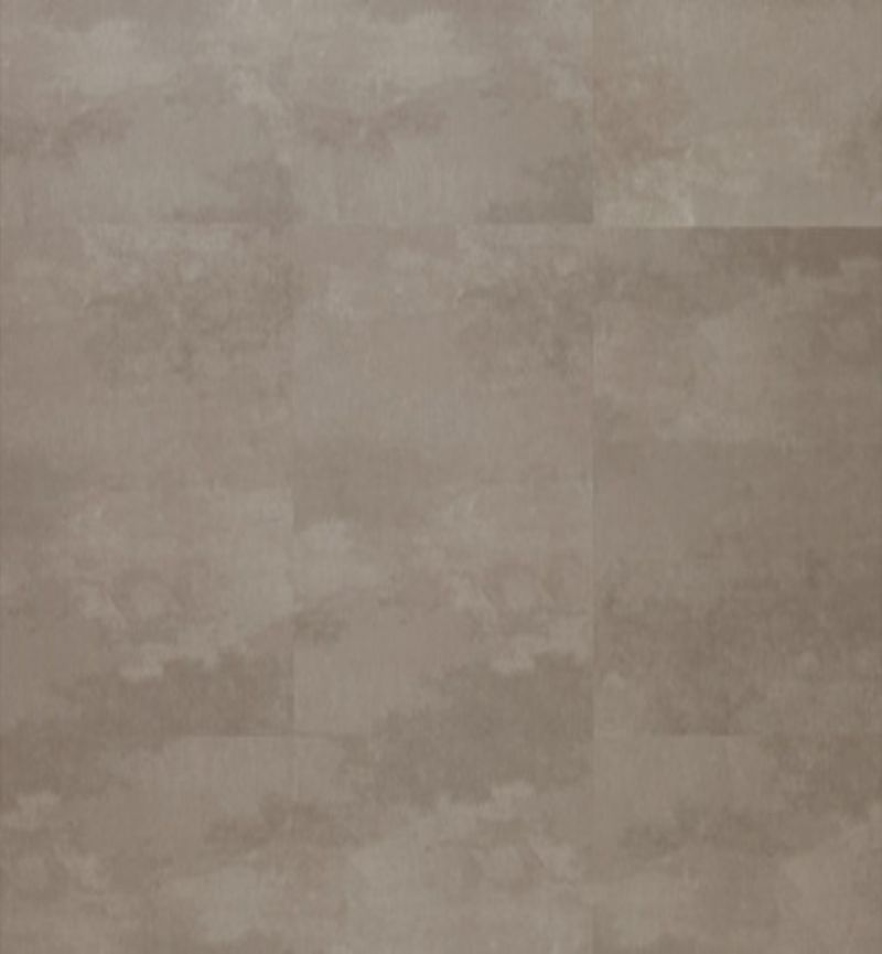 Green-Flor PVC GT903 New Square Piazza Concrete Umber Brown