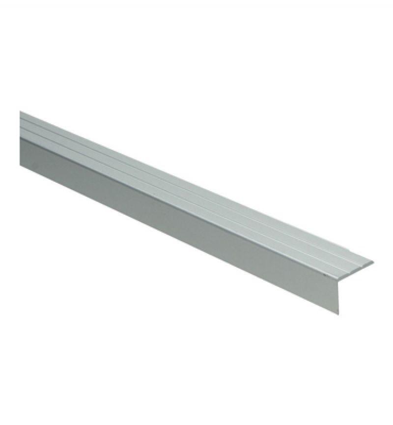 Hoekprofiel zelfklevend 20H 100 cm aluminium