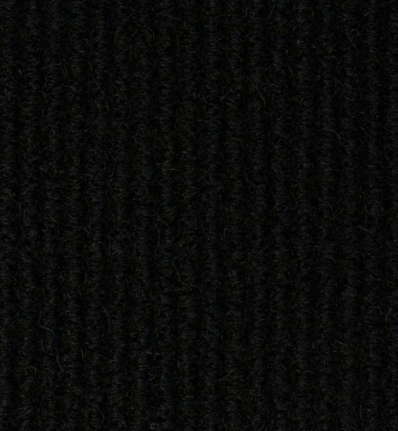 Huisselectie Tapijttegels Ribbel 6200 Black