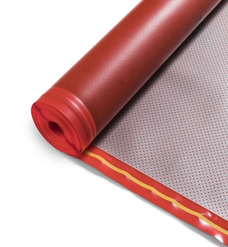 Ondervloer Houten vloeren Heat foil 10dB 1.2 mm