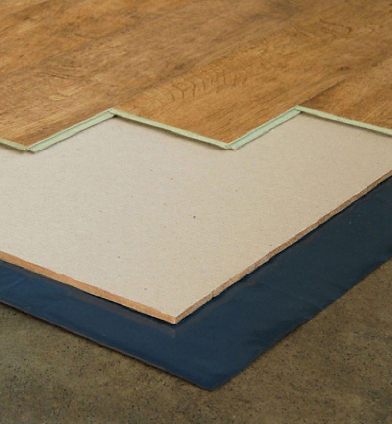 Ondervloer Houten vloeren Silent Plus platen 10 mm 10dB