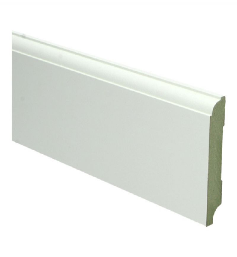 Plint MDF Kraal 90 x 15 mm 240 cm