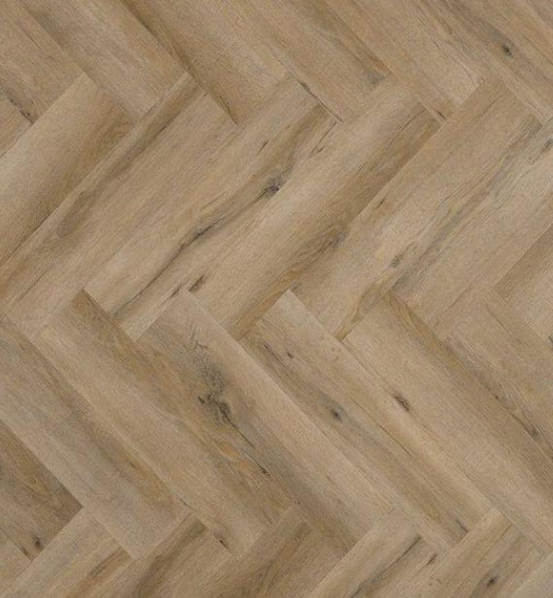 Viva Floors pvc vloer 6850V Visgraat Lijmversie