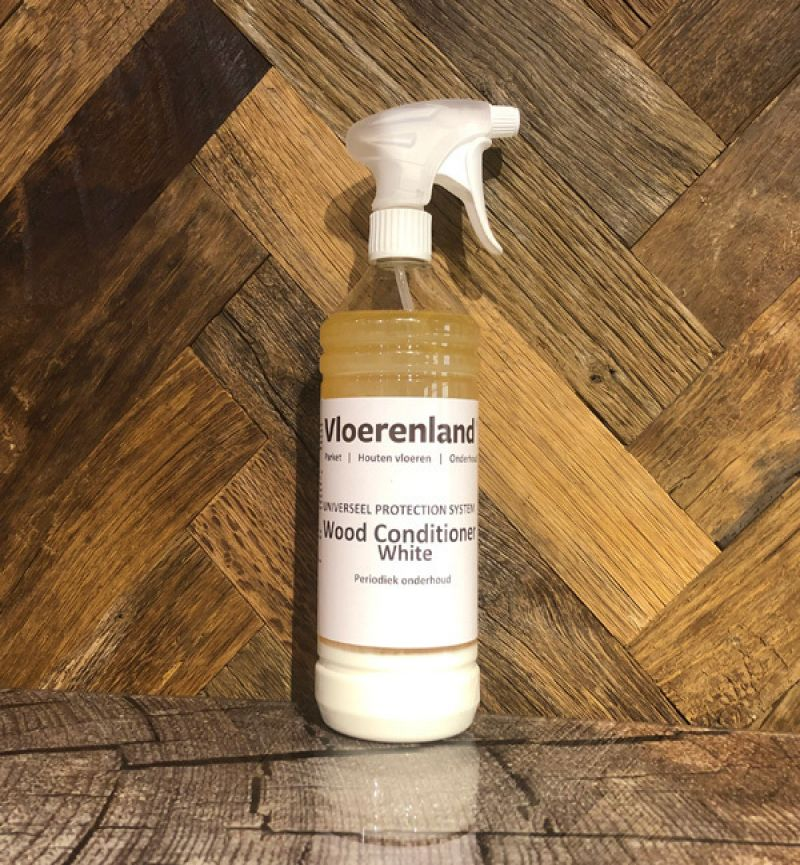 1 Liter Vloerenland Wood Conditioner WHITE WASH