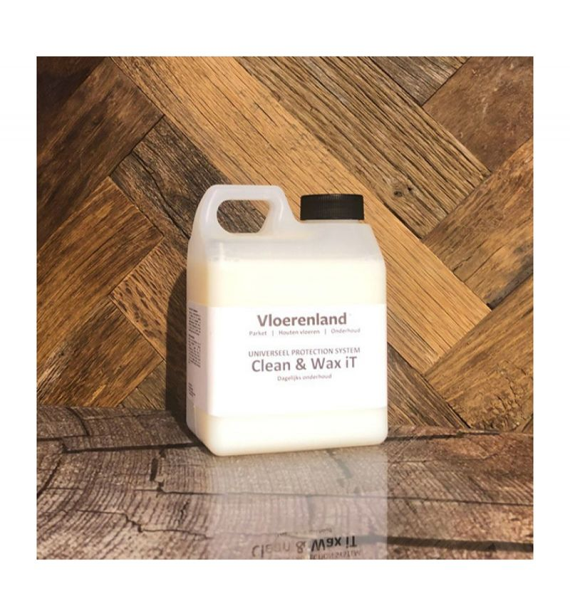 1 Liter Vloerenland Clean & Wax-iT