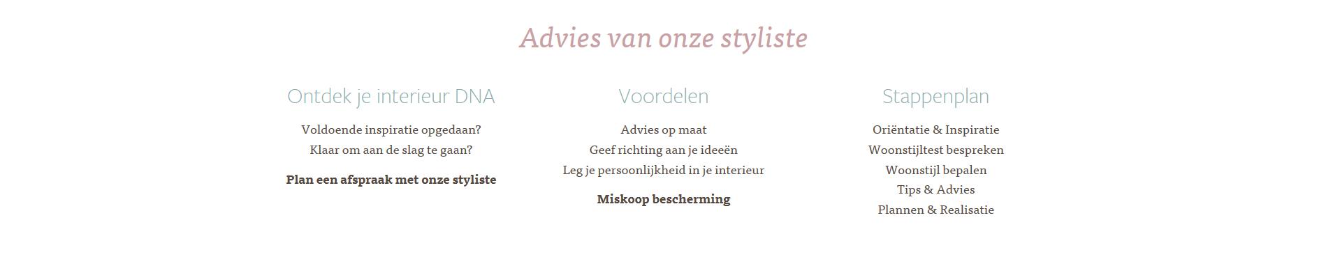 Advies van styliste Voerenland