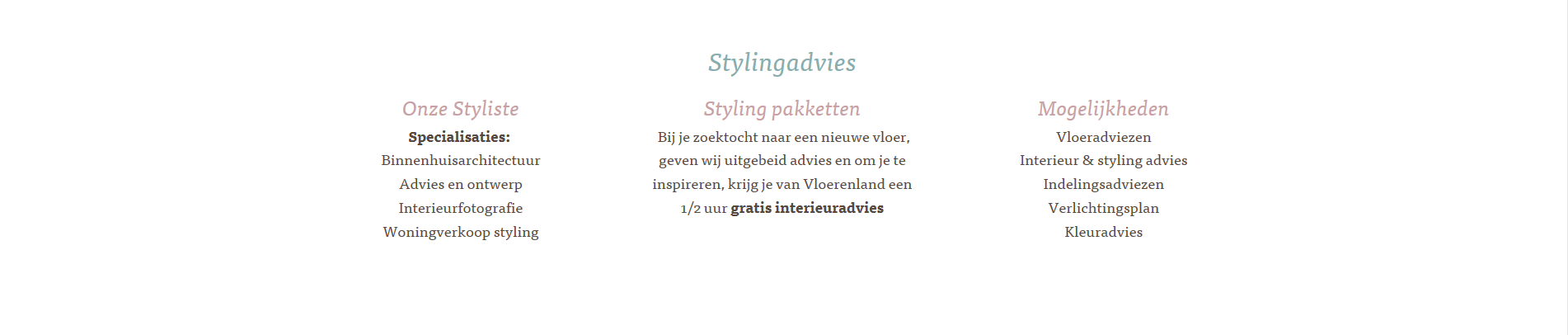 Stylingadvies