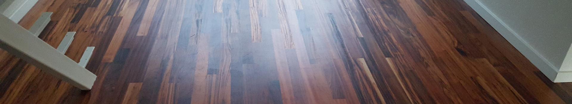 Behandelde houten vloer