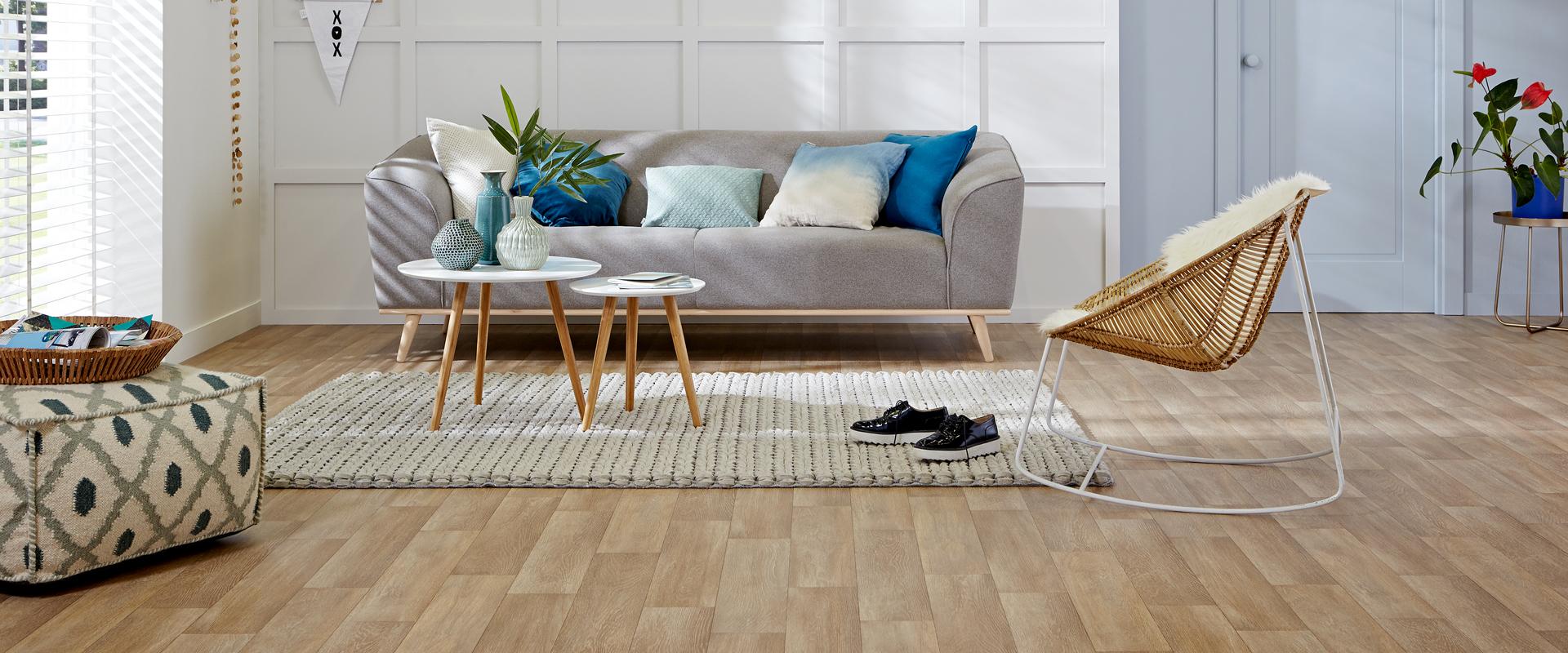 Woning met PVC vloer