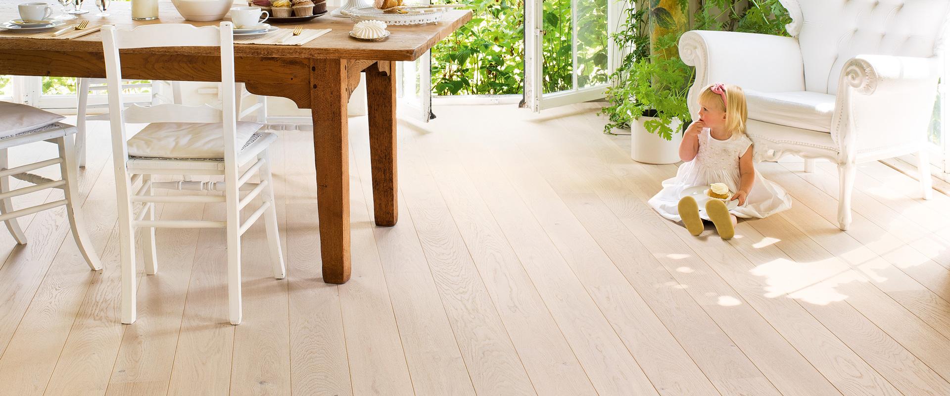 Eiken houten vloer / parket kopen | Vloerenland