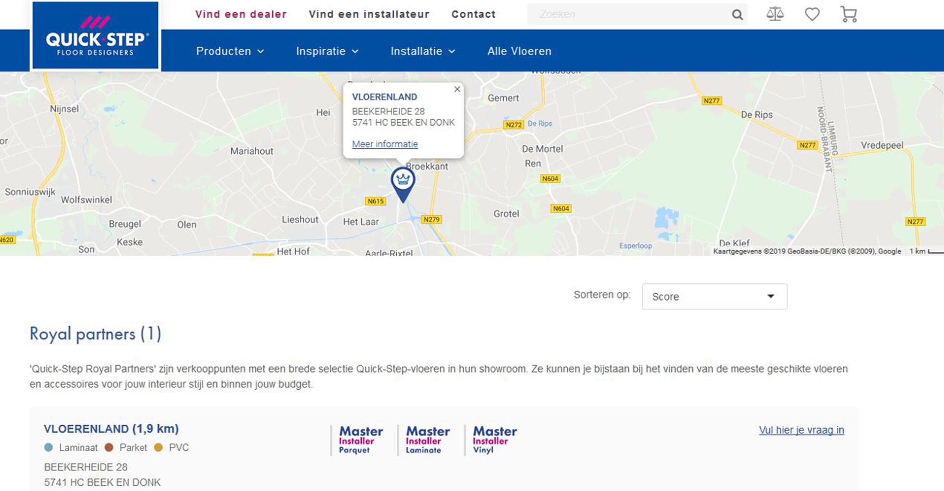 Royal Quick-step dealer | Vloerenland